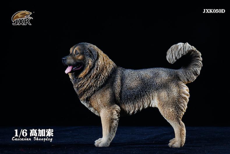 Dog - NEW PRODUCT: JXK: Caucasian Shepherd Dog JXK050 & African Hyena JXK051 Striped Hyena 02000910