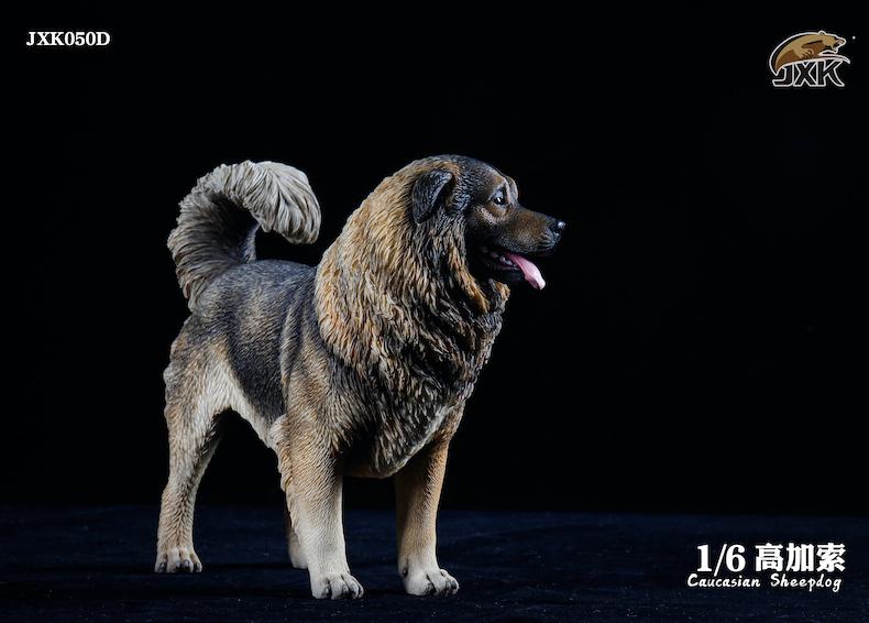 Dog - NEW PRODUCT: JXK: Caucasian Shepherd Dog JXK050 & African Hyena JXK051 Striped Hyena 02001010