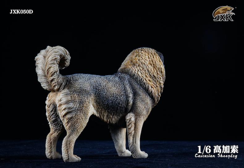 Dog - NEW PRODUCT: JXK: Caucasian Shepherd Dog JXK050 & African Hyena JXK051 Striped Hyena 02001011