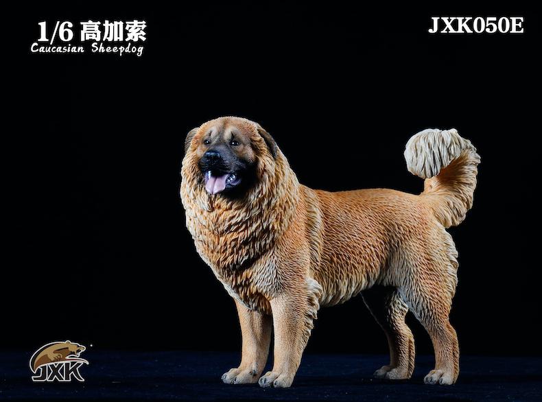 Dog - NEW PRODUCT: JXK: Caucasian Shepherd Dog JXK050 & African Hyena JXK051 Striped Hyena 02001111