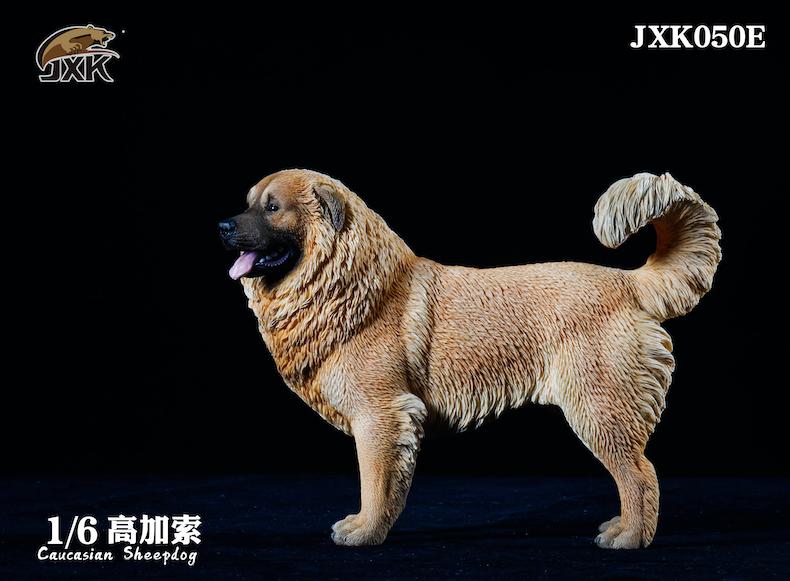 Dog - NEW PRODUCT: JXK: Caucasian Shepherd Dog JXK050 & African Hyena JXK051 Striped Hyena 02001210