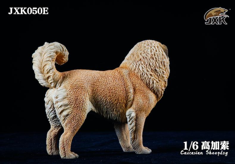 Dog - NEW PRODUCT: JXK: Caucasian Shepherd Dog JXK050 & African Hyena JXK051 Striped Hyena 02001311