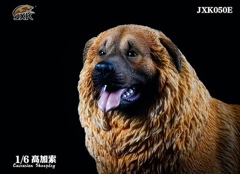 Dog - NEW PRODUCT: JXK: Caucasian Shepherd Dog JXK050 & African Hyena JXK051 Striped Hyena 02001410