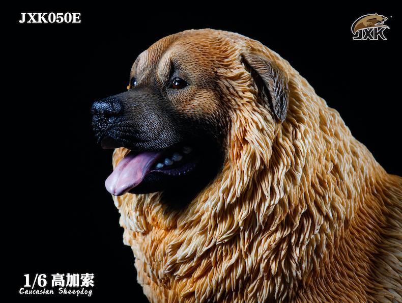 Dog - NEW PRODUCT: JXK: Caucasian Shepherd Dog JXK050 & African Hyena JXK051 Striped Hyena 02001710