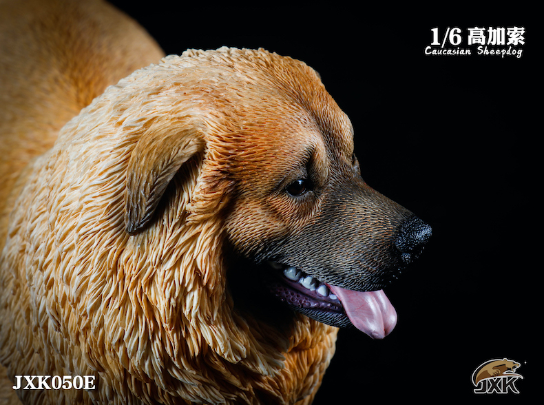 Dog - NEW PRODUCT: JXK: Caucasian Shepherd Dog JXK050 & African Hyena JXK051 Striped Hyena 02001810