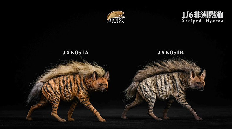 Dog - NEW PRODUCT: JXK: Caucasian Shepherd Dog JXK050 & African Hyena JXK051 Striped Hyena 02022510