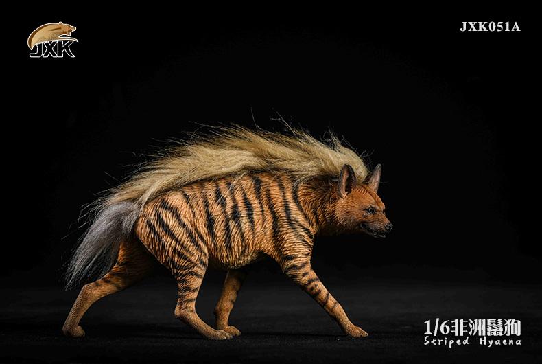 Dog - NEW PRODUCT: JXK: Caucasian Shepherd Dog JXK050 & African Hyena JXK051 Striped Hyena 02022610