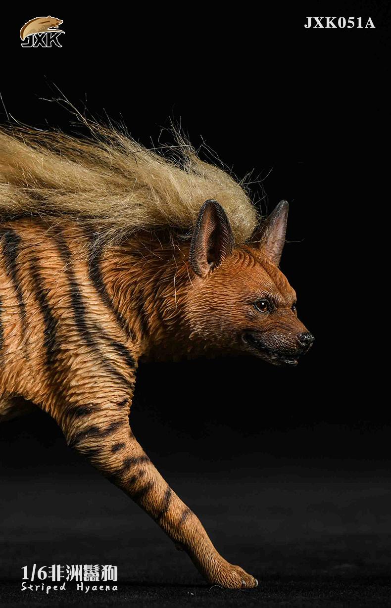 Dog - NEW PRODUCT: JXK: Caucasian Shepherd Dog JXK050 & African Hyena JXK051 Striped Hyena 02022611