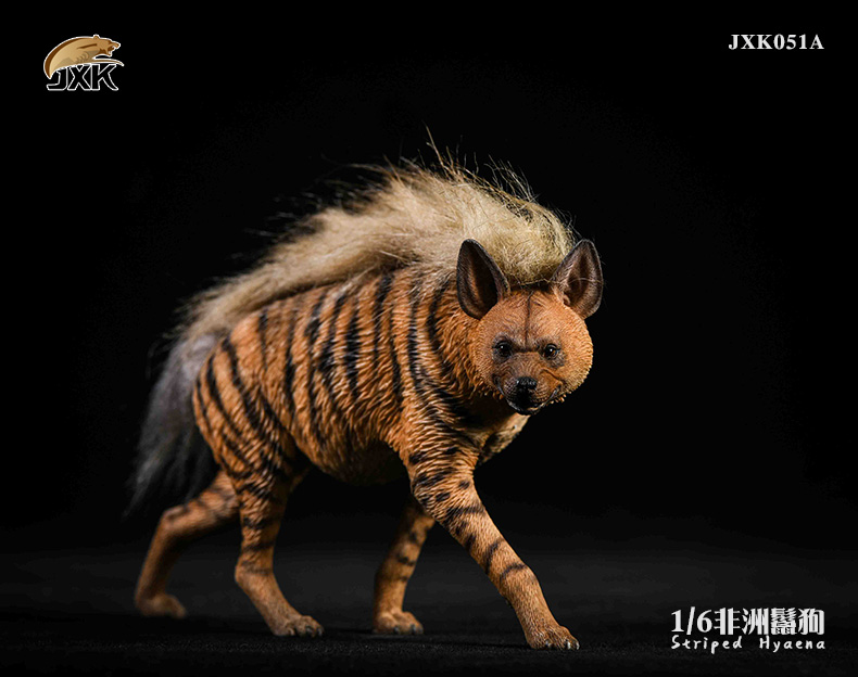 Dog - NEW PRODUCT: JXK: Caucasian Shepherd Dog JXK050 & African Hyena JXK051 Striped Hyena 02022711