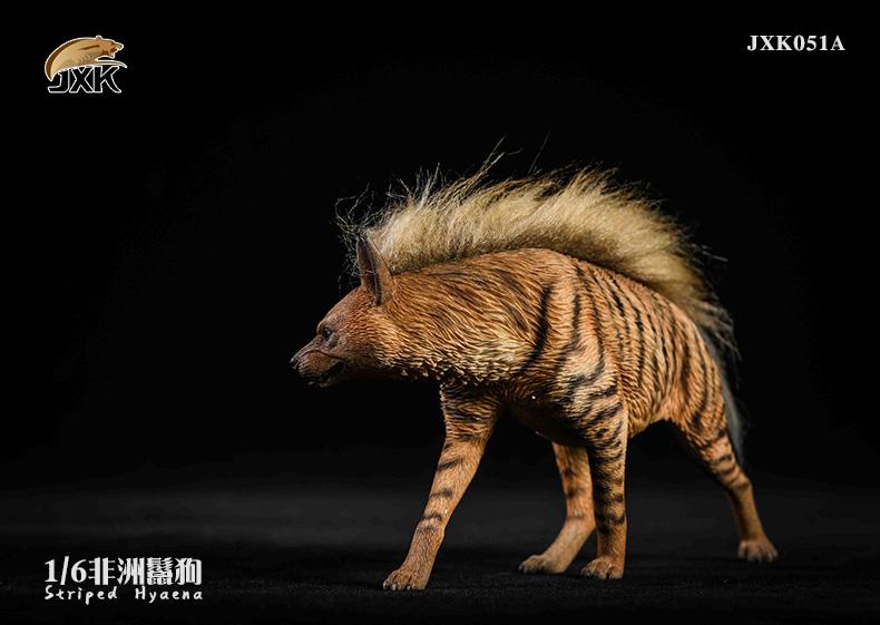 Dog - NEW PRODUCT: JXK: Caucasian Shepherd Dog JXK050 & African Hyena JXK051 Striped Hyena 02022712