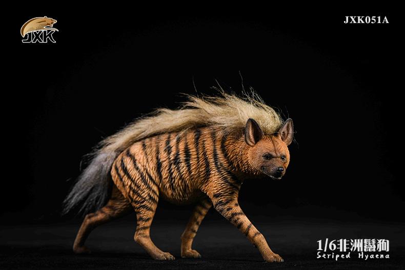 Dog - NEW PRODUCT: JXK: Caucasian Shepherd Dog JXK050 & African Hyena JXK051 Striped Hyena 02022810