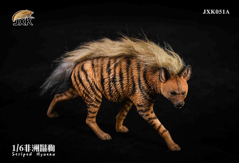 Dog - NEW PRODUCT: JXK: Caucasian Shepherd Dog JXK050 & African Hyena JXK051 Striped Hyena 02022811