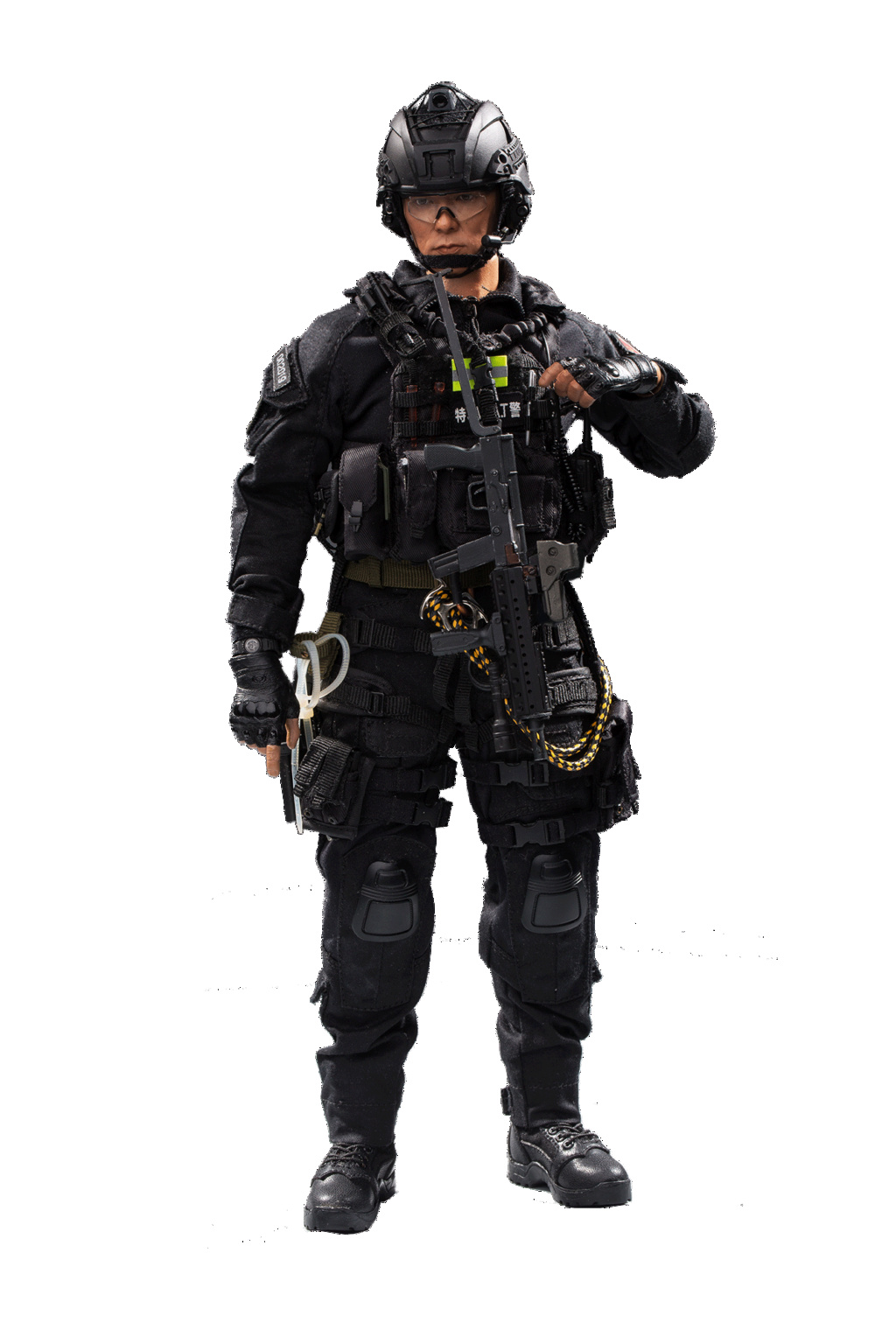 ArmySoul - NEW PRODUCT: FLAGSET & 沧久工作室新品: Army Soul Series 1/6 China Special Police Lightning Commando (FS73024#) 02181410