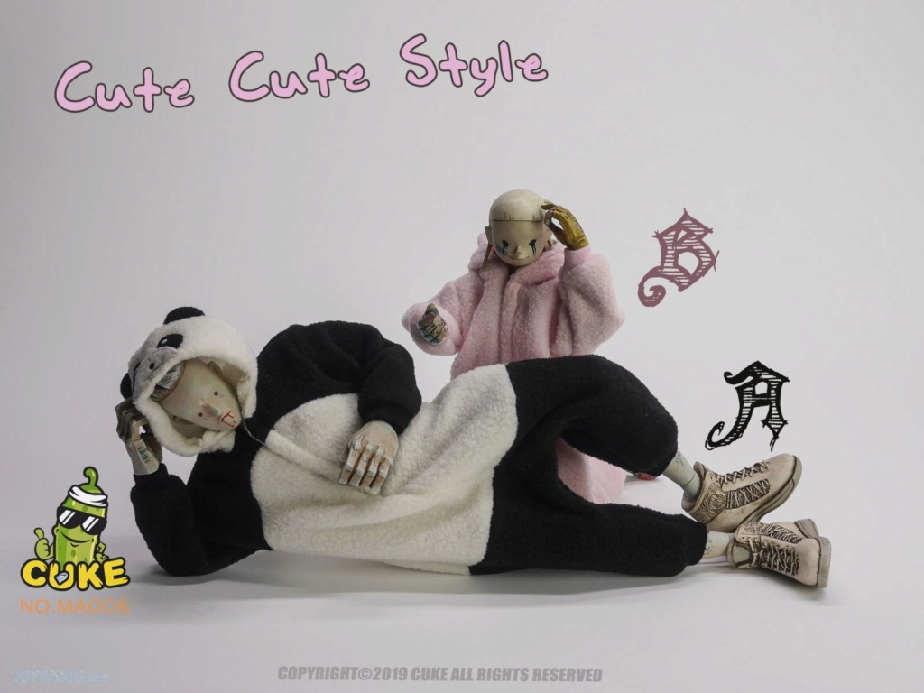 CukeToys - NEW PRODUCT: Cuke Toys: [CK-M006] 1/6 Cute Cute Style 028