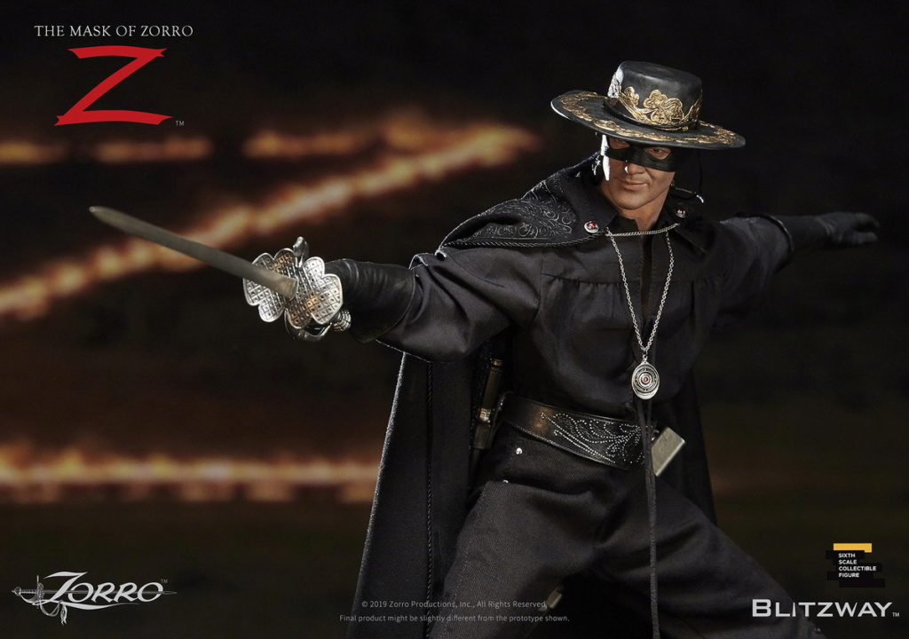 "Blitzway - NEW PRODUCT: Blitzway: 1/6 ""Mask of Zorro"" 1998- Zorro/Zorro-Double-headed Vulture Configuration (#BW-UMS 11101) 05505510"