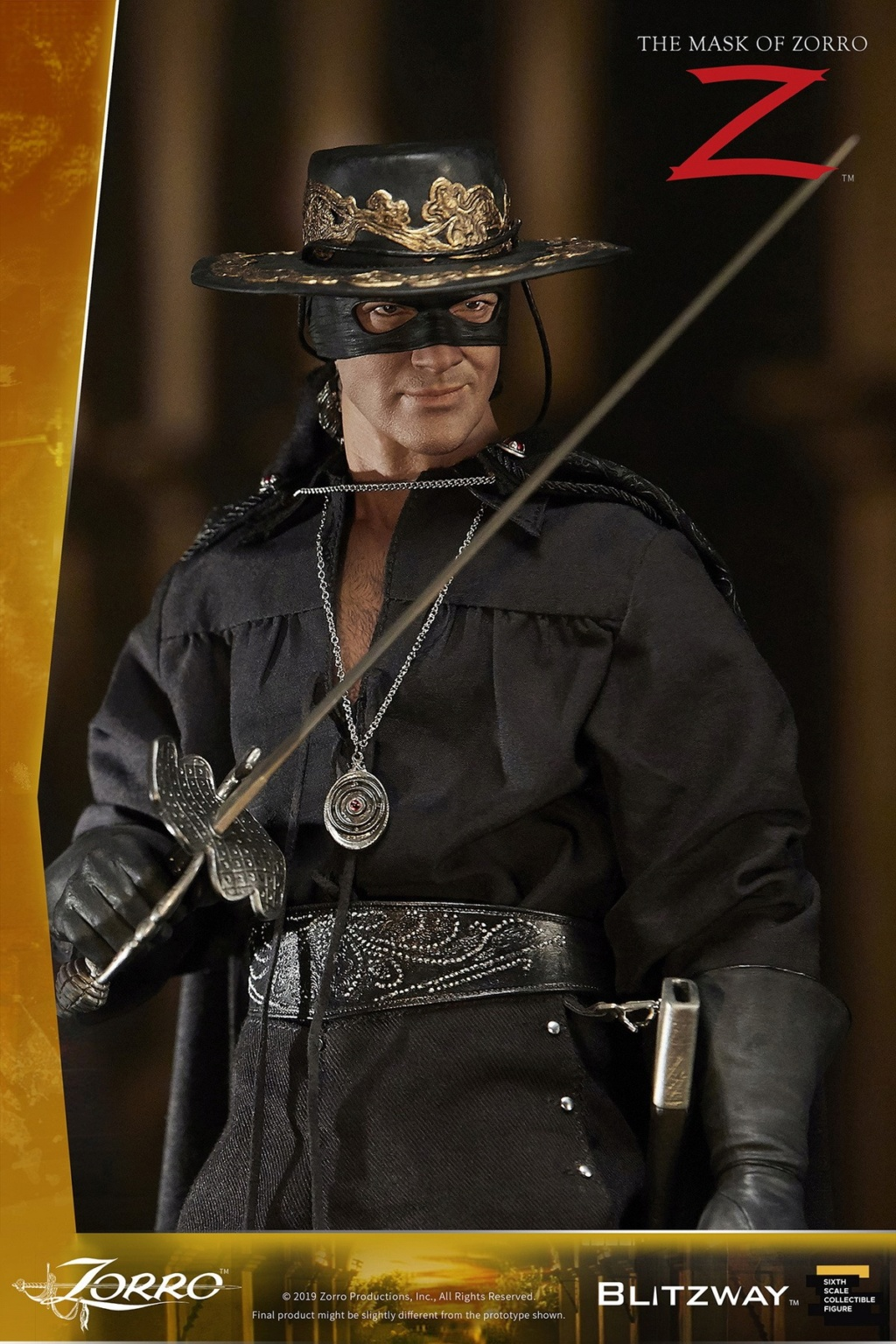 "Blitzway - NEW PRODUCT: Blitzway: 1/6 ""Mask of Zorro"" 1998- Zorro/Zorro-Double-headed Vulture Configuration (#BW-UMS 11101) 05510810"