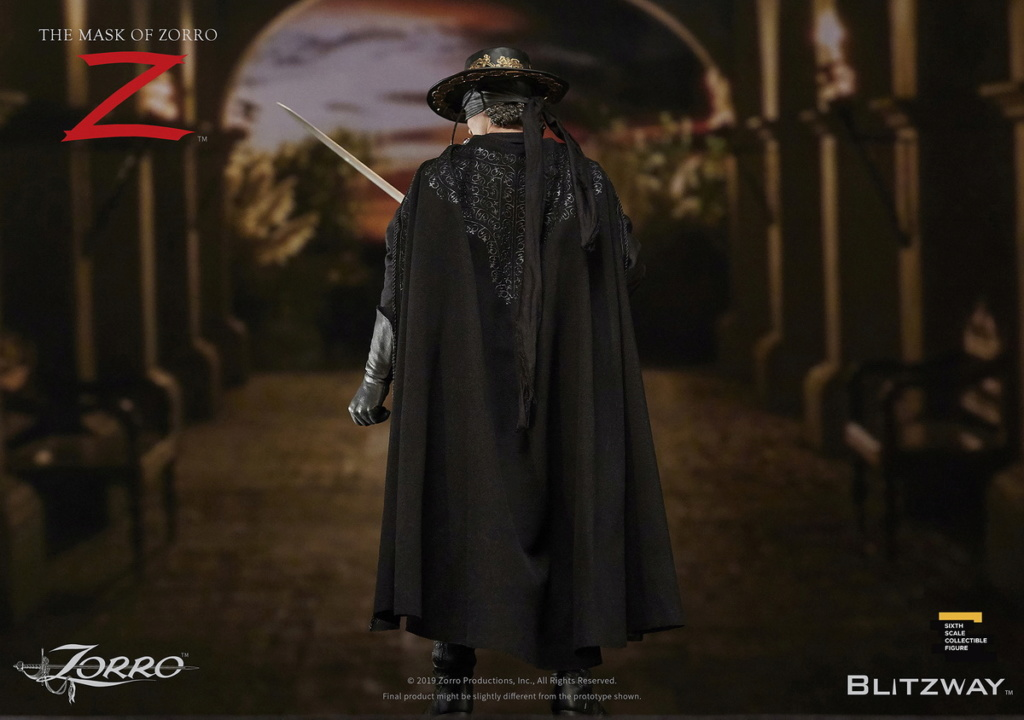 "Blitzway - NEW PRODUCT: Blitzway: 1/6 ""Mask of Zorro"" 1998- Zorro/Zorro-Double-headed Vulture Configuration (#BW-UMS 11101) 05511110"