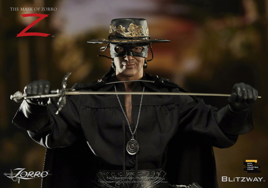 "Blitzway - NEW PRODUCT: Blitzway: 1/6 ""Mask of Zorro"" 1998- Zorro/Zorro-Double-headed Vulture Configuration (#BW-UMS 11101) 05511510"
