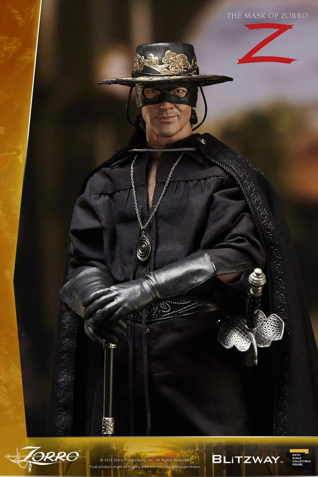 "Blitzway - NEW PRODUCT: Blitzway: 1/6 ""Mask of Zorro"" 1998- Zorro/Zorro-Double-headed Vulture Configuration (#BW-UMS 11101) 05512310"