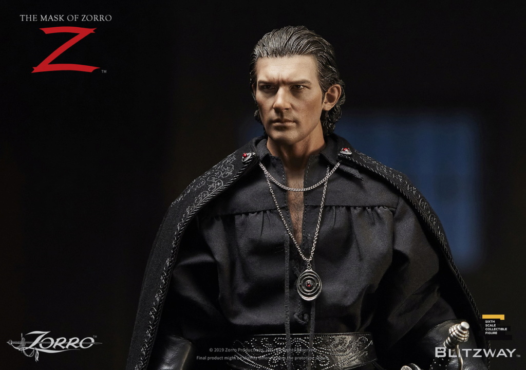 "Blitzway - NEW PRODUCT: Blitzway: 1/6 ""Mask of Zorro"" 1998- Zorro/Zorro-Double-headed Vulture Configuration (#BW-UMS 11101) 05513410"