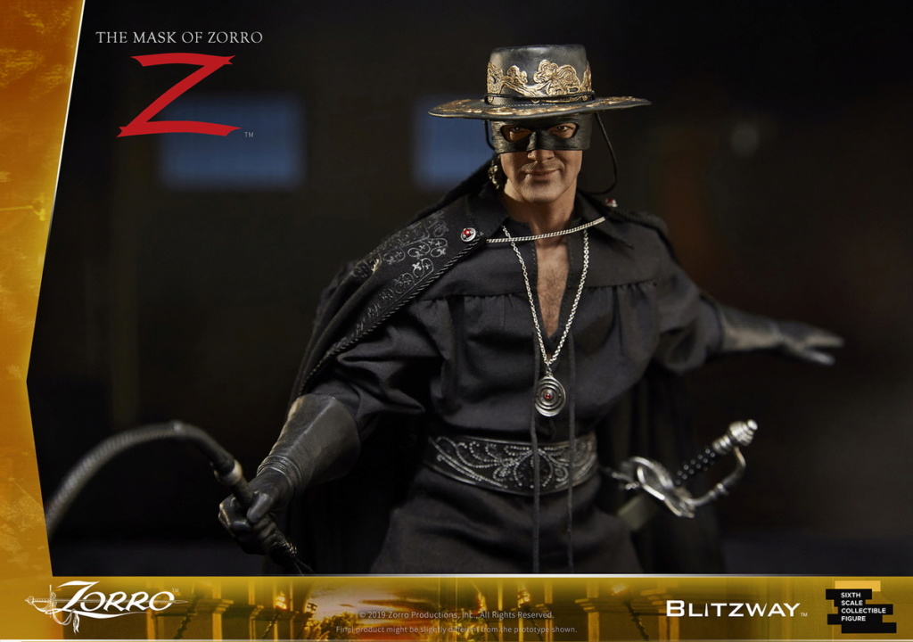 "Blitzway - NEW PRODUCT: Blitzway: 1/6 ""Mask of Zorro"" 1998- Zorro/Zorro-Double-headed Vulture Configuration (#BW-UMS 11101) 05513710"