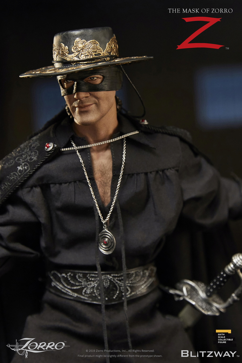 "Blitzway - NEW PRODUCT: Blitzway: 1/6 ""Mask of Zorro"" 1998- Zorro/Zorro-Double-headed Vulture Configuration (#BW-UMS 11101) 05514010"