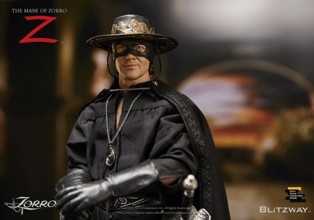 "Blitzway - NEW PRODUCT: Blitzway: 1/6 ""Mask of Zorro"" 1998- Zorro/Zorro-Double-headed Vulture Configuration (#BW-UMS 11101) 05520010"