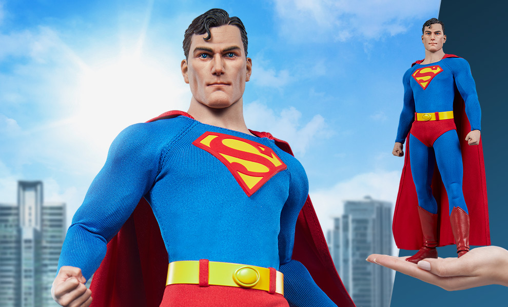 male - NEW PRODUCT: Sideshow: 1/6 DC Comics - Superman/Superman Movable (#100224) 07580110