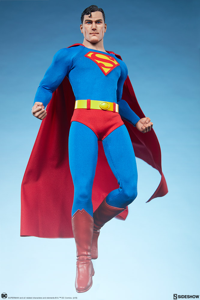 male - NEW PRODUCT: Sideshow: 1/6 DC Comics - Superman/Superman Movable (#100224) 07580510