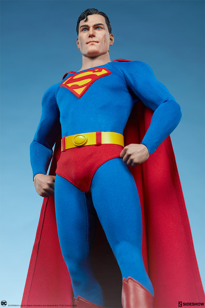 male - NEW PRODUCT: Sideshow: 1/6 DC Comics - Superman/Superman Movable (#100224) 07580810