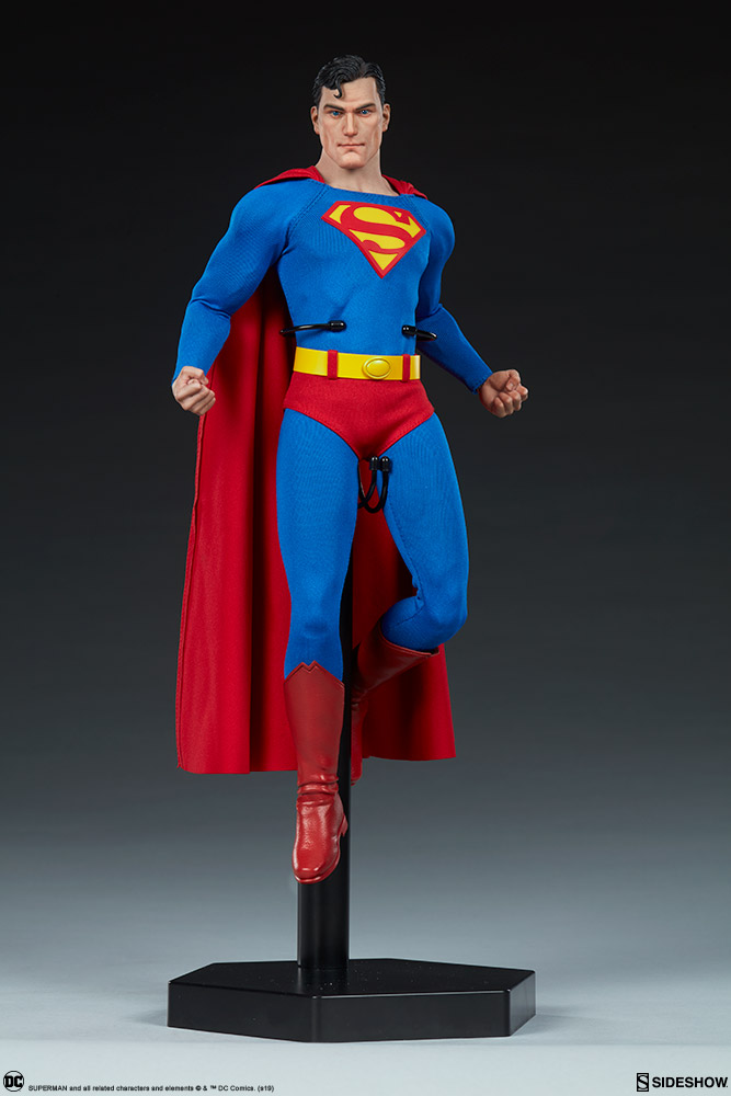 male - NEW PRODUCT: Sideshow: 1/6 DC Comics - Superman/Superman Movable (#100224) 07581410