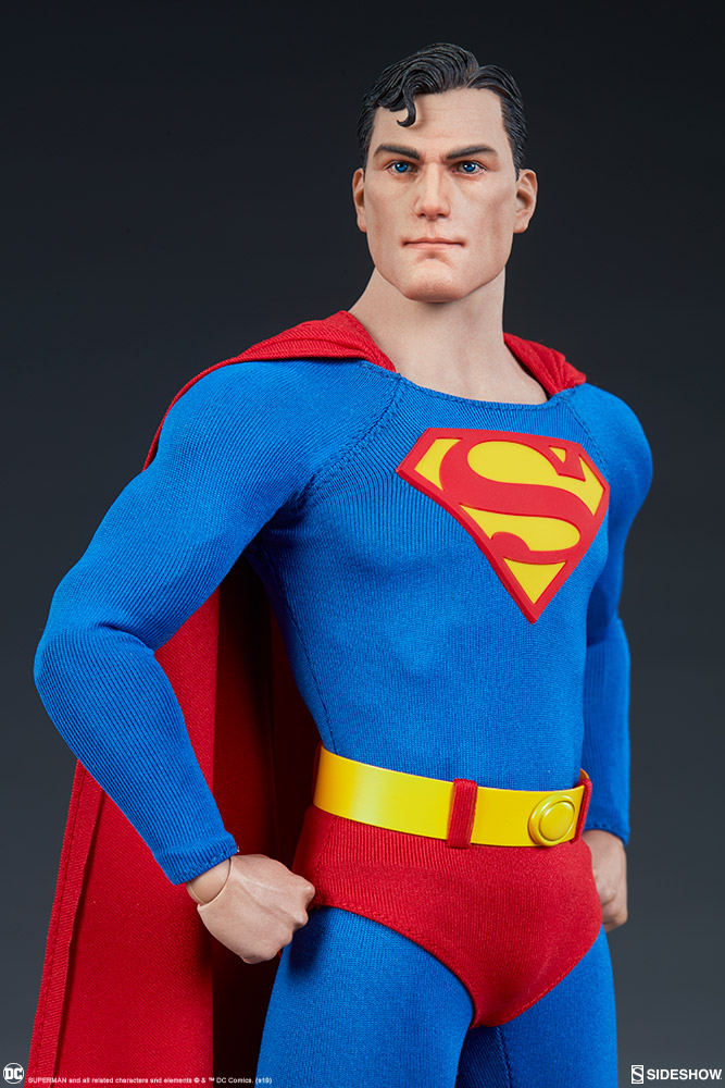 male - NEW PRODUCT: Sideshow: 1/6 DC Comics - Superman/Superman Movable (#100224) 07581810