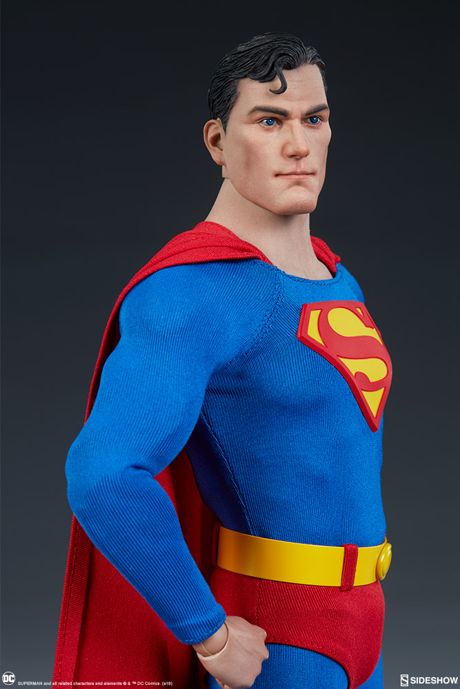 male - NEW PRODUCT: Sideshow: 1/6 DC Comics - Superman/Superman Movable (#100224) 07582110