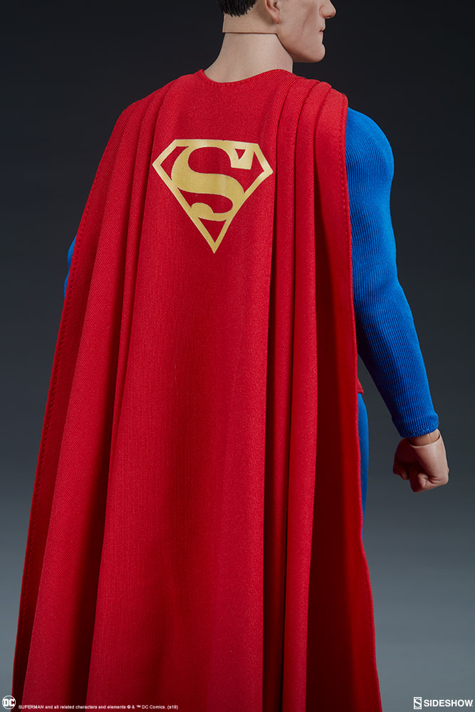 male - NEW PRODUCT: Sideshow: 1/6 DC Comics - Superman/Superman Movable (#100224) 07585010