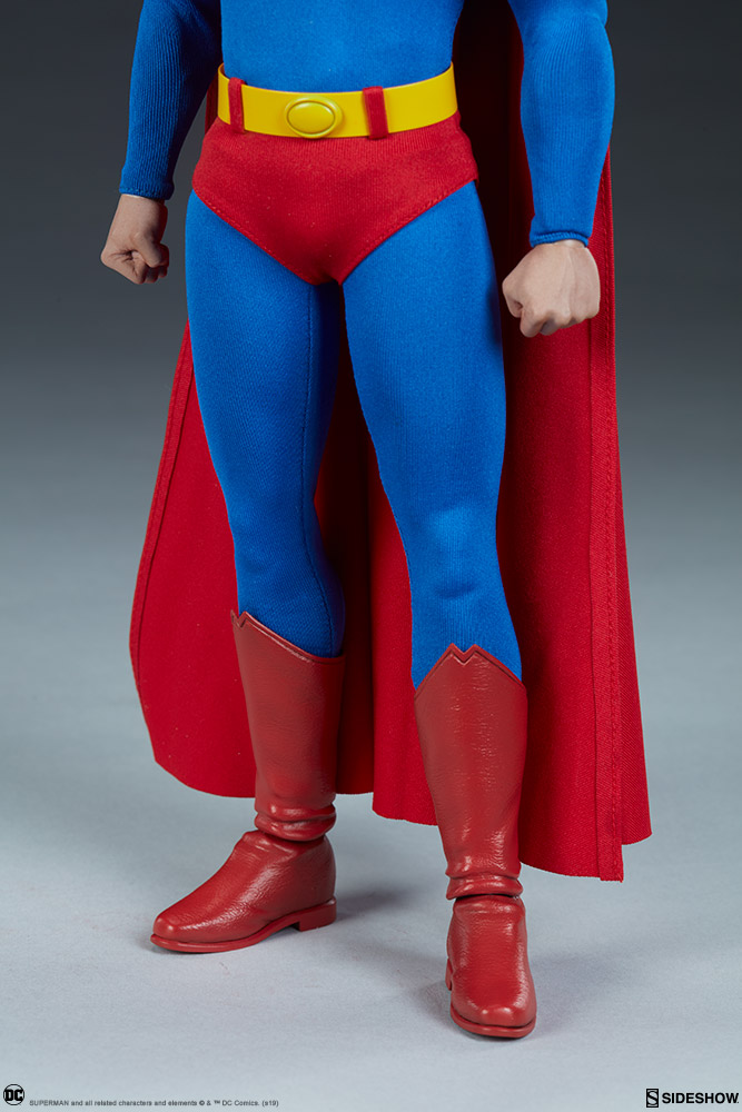 male - NEW PRODUCT: Sideshow: 1/6 DC Comics - Superman/Superman Movable (#100224) 07585610