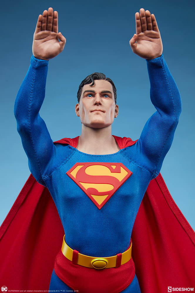male - NEW PRODUCT: Sideshow: 1/6 DC Comics - Superman/Superman Movable (#100224) 07590310