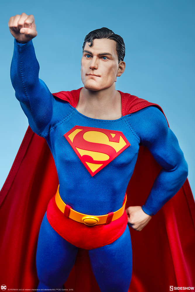 male - NEW PRODUCT: Sideshow: 1/6 DC Comics - Superman/Superman Movable (#100224) 07590710