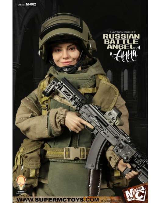 Russian - NEW PRODUCT: SUPERMC TOYS X FacePoolFigure:1/6 Russian battle angel —Анна 08260010
