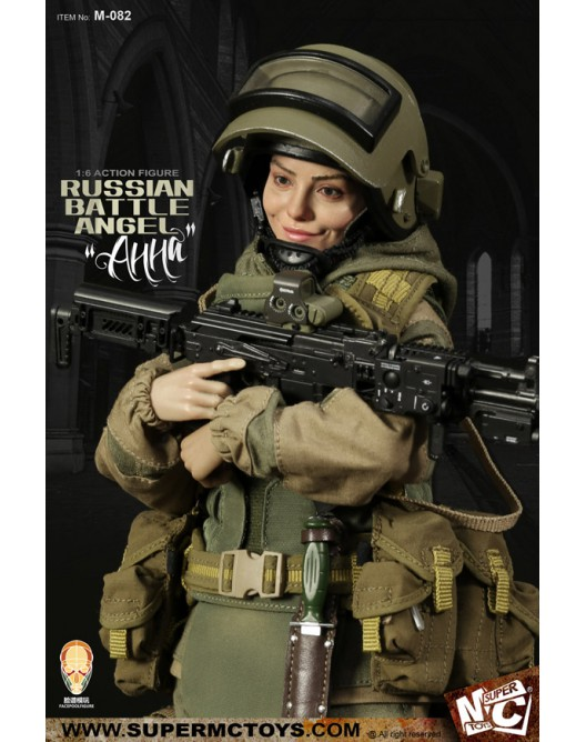 Russian - NEW PRODUCT: SUPERMC TOYS X FacePoolFigure:1/6 Russian battle angel —Анна 08260110