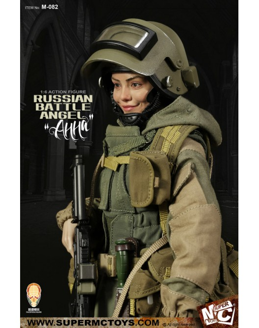 Russian - NEW PRODUCT: SUPERMC TOYS X FacePoolFigure:1/6 Russian battle angel —Анна 08260210
