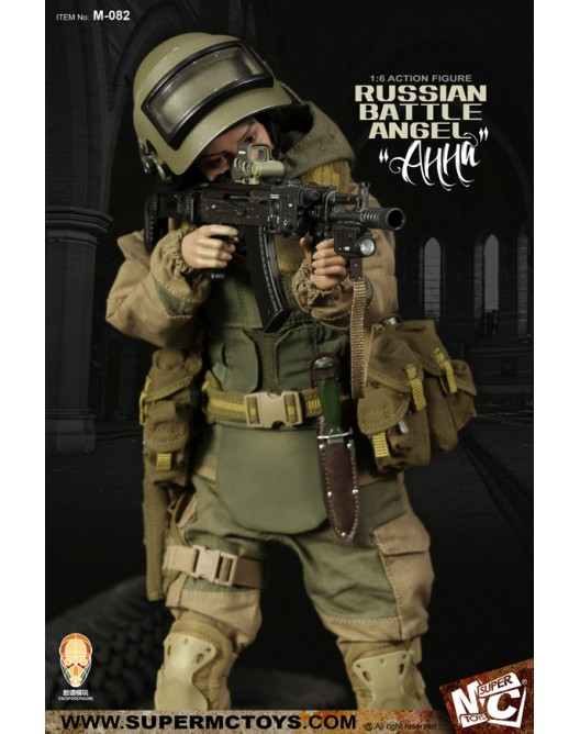 Russian - NEW PRODUCT: SUPERMC TOYS X FacePoolFigure:1/6 Russian battle angel —Анна 08260310