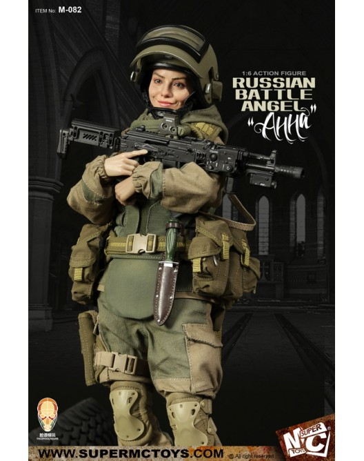 Russian - NEW PRODUCT: SUPERMC TOYS X FacePoolFigure:1/6 Russian battle angel —Анна 08260510