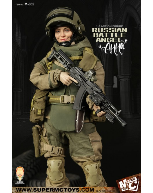 Russian - NEW PRODUCT: SUPERMC TOYS X FacePoolFigure:1/6 Russian battle angel —Анна 08260511