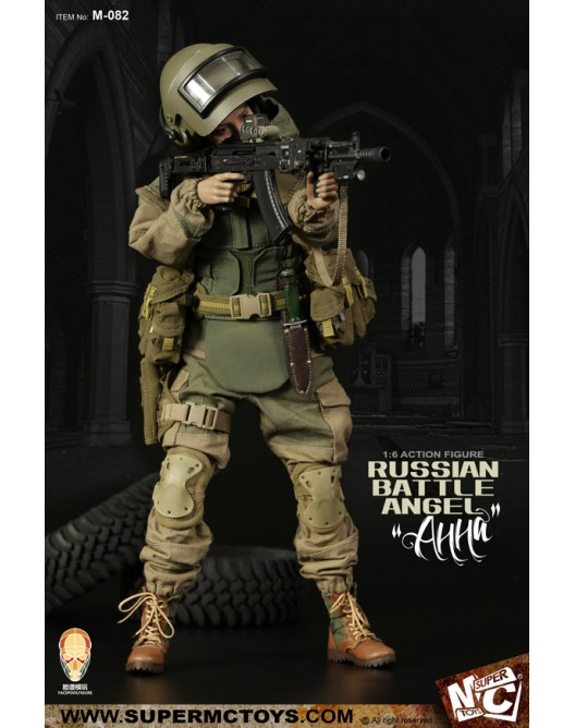 Russian - NEW PRODUCT: SUPERMC TOYS X FacePoolFigure:1/6 Russian battle angel —Анна 08260610