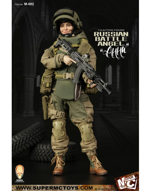 Russian - NEW PRODUCT: SUPERMC TOYS X FacePoolFigure:1/6 Russian battle angel —Анна 08260710