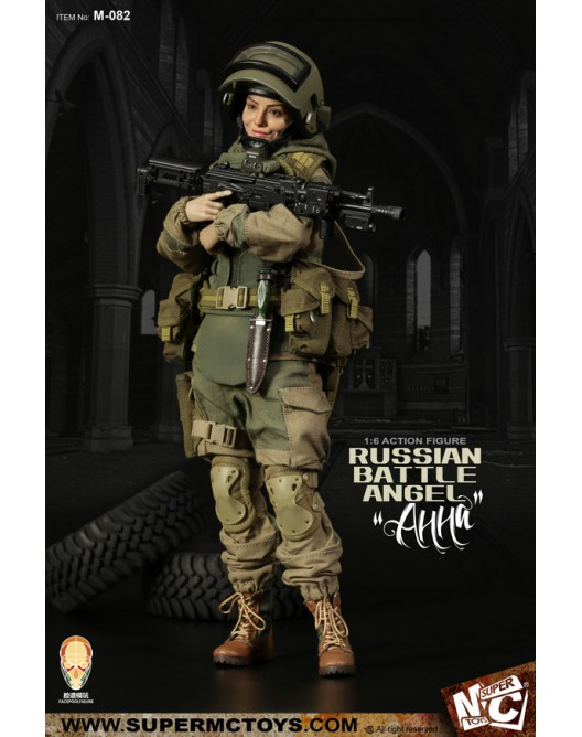 Russian - NEW PRODUCT: SUPERMC TOYS X FacePoolFigure:1/6 Russian battle angel —Анна 08260810