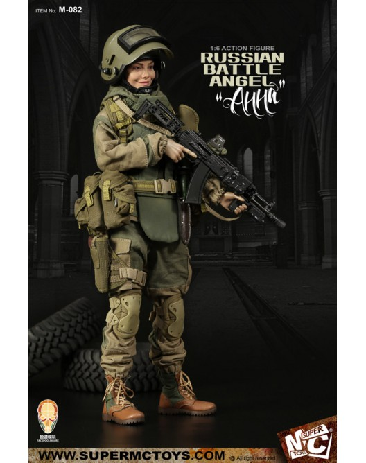 Russian - NEW PRODUCT: SUPERMC TOYS X FacePoolFigure:1/6 Russian battle angel —Анна 08260911