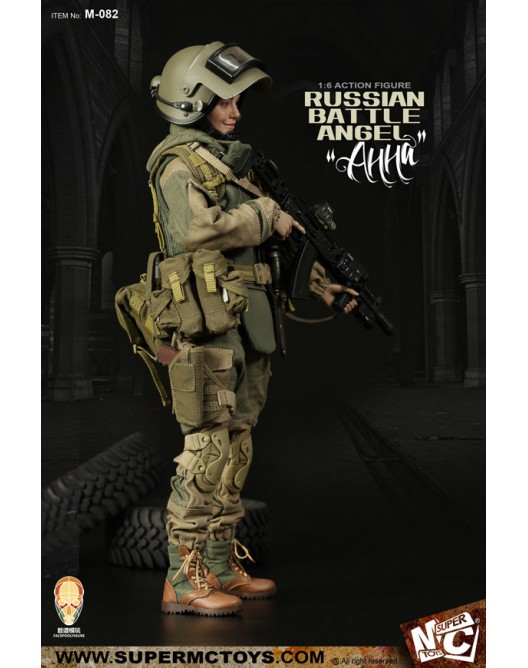 Russian - NEW PRODUCT: SUPERMC TOYS X FacePoolFigure:1/6 Russian battle angel —Анна 08261111