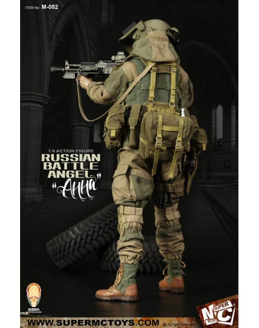 Russian - NEW PRODUCT: SUPERMC TOYS X FacePoolFigure:1/6 Russian battle angel —Анна 08261211