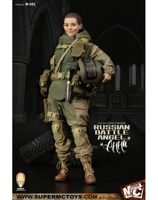 Russian - NEW PRODUCT: SUPERMC TOYS X FacePoolFigure:1/6 Russian battle angel —Анна 08261411